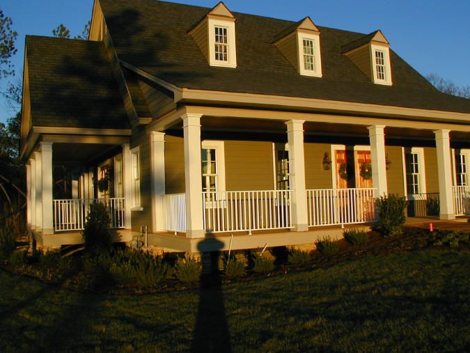 Cape Cod Front Porch Ideas Part - 34: Virginia Railing And Gates: Porch Handrails And Railings