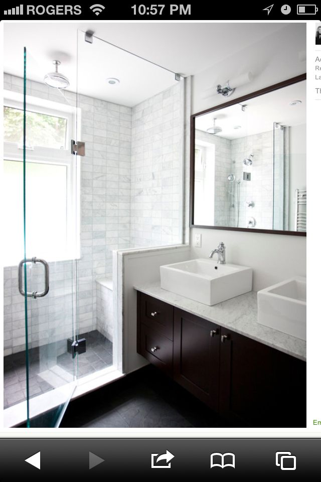 11 Creative Ways To Make A Small Bathroom Look Bigger Designed Bathroom Remodel Master Small Master Bathroom Bathroom Design