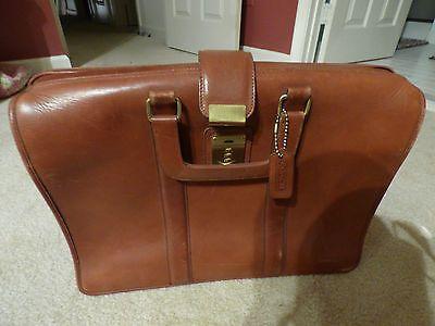 COACH Rare Leather Doctor Lawyer Gladstone Briefcase https://t.co/EL5noJojpU https://t.co/Cavxm9FJHt