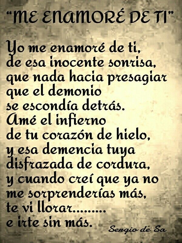 Me Enamore De Ti Frases Pinterest Quotes Frida Quotes Y Frases