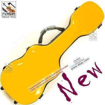 Beautiful Yellow Fiberglass 21 Soprano Ukulele Case High Quality New Ebay Ukulele Case Ukulele Ukulele Instrument