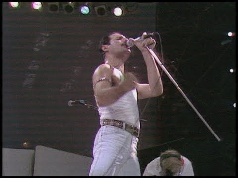 Freddie Mercury's set in July 1985 is often called one of
