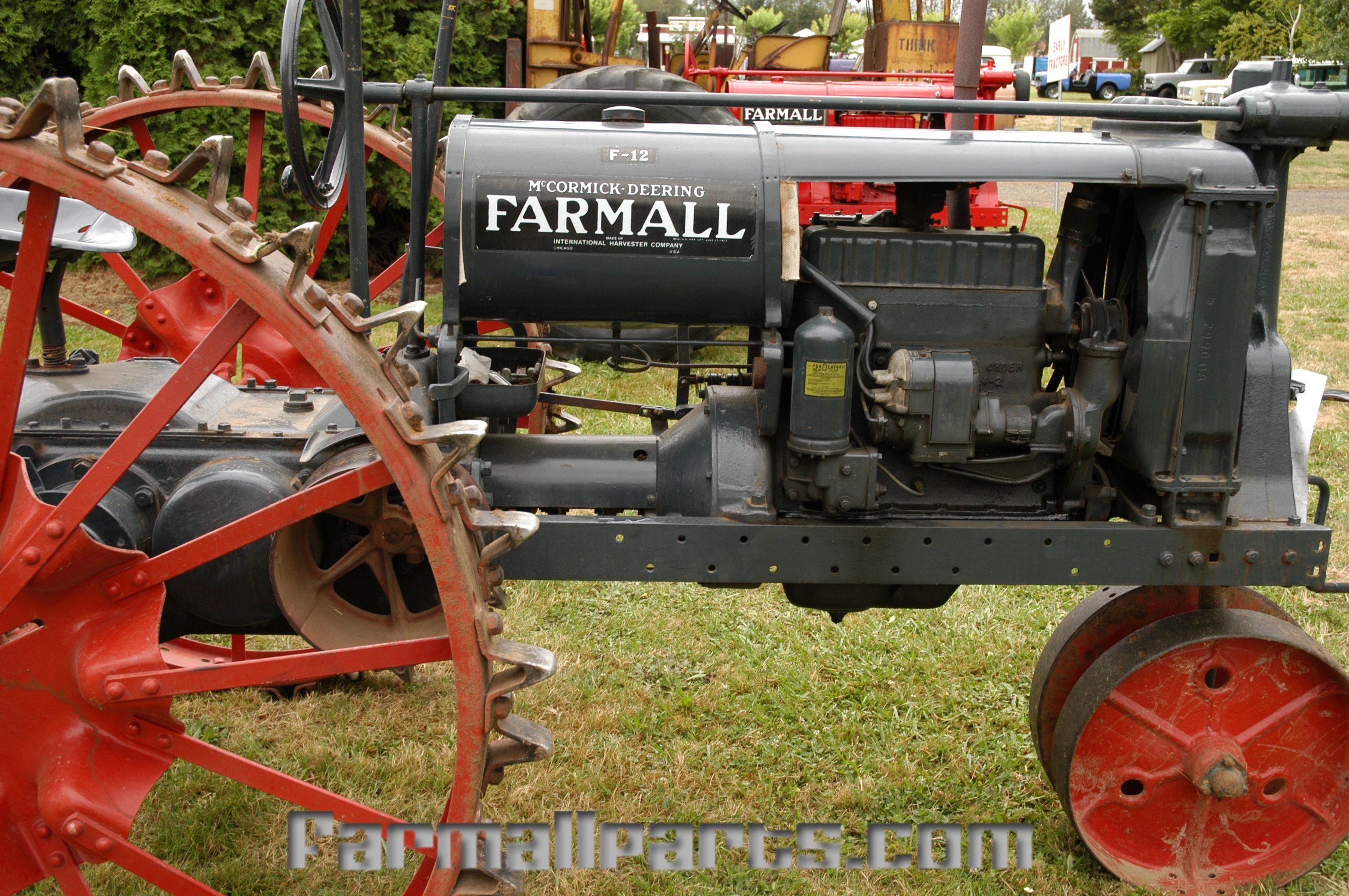 International Harvester Farmall McCormick-Deering Farmall F-12 with Steel  Wheels