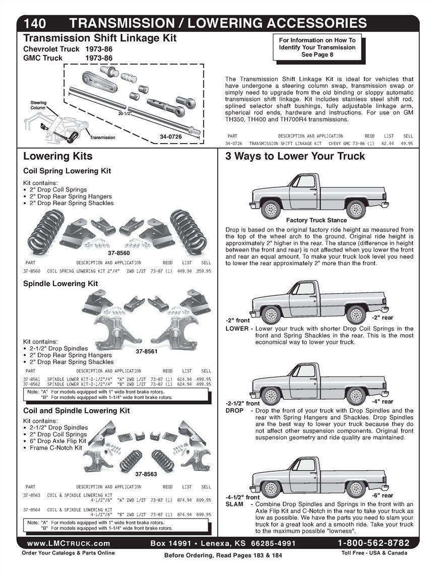 Truck Parts And Truck Accessories Gmc Trucks Lift Kits Chevrolet Trucks
