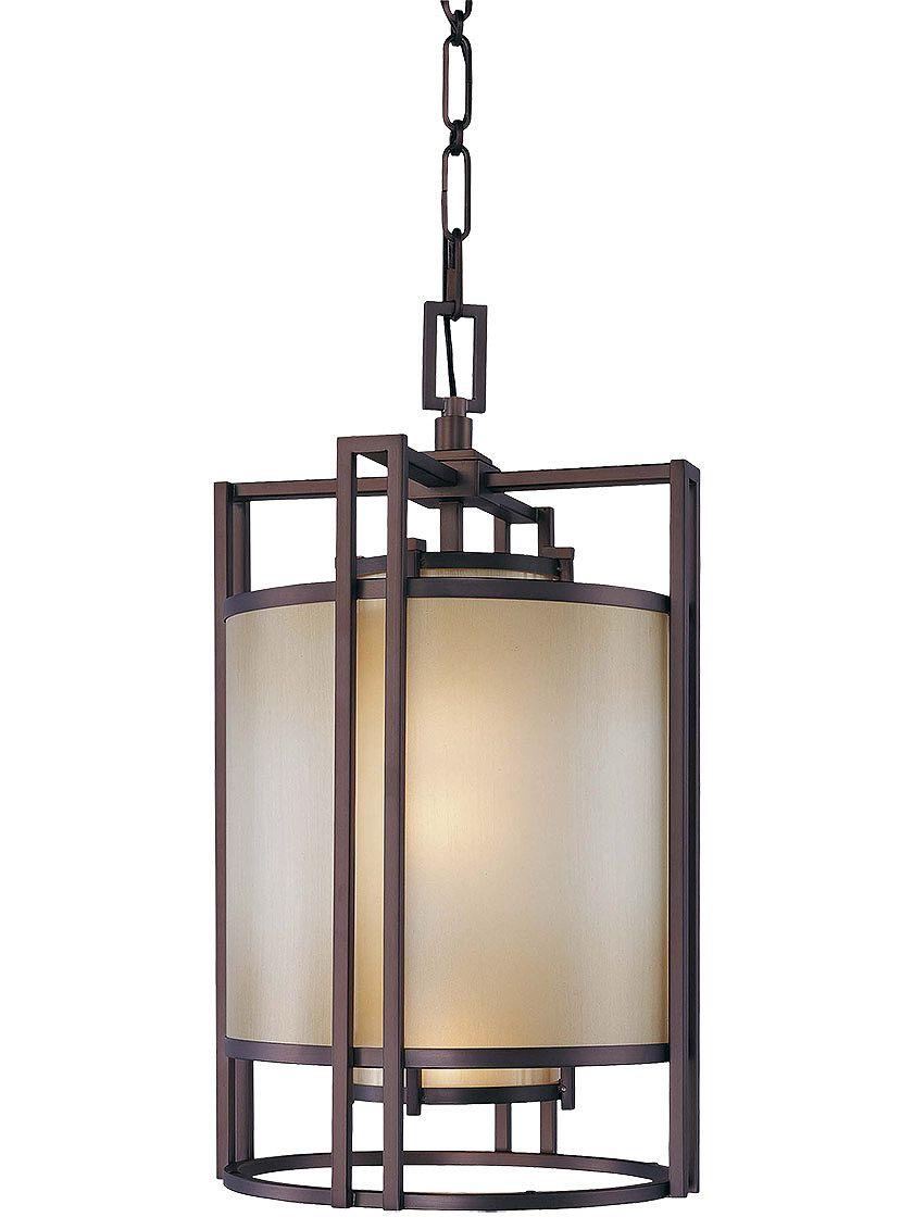 Vintage light pendant underscore large foyer pendant in cimarron