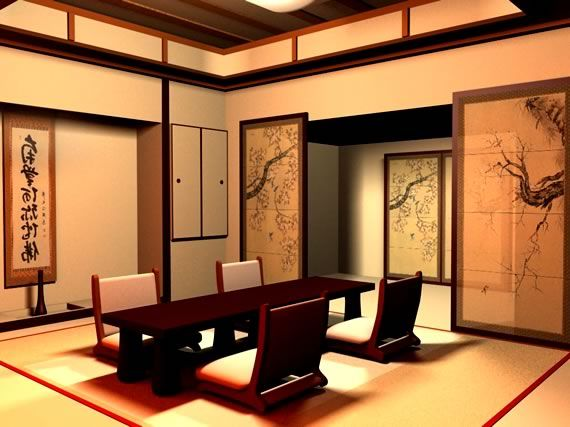 Interiorismo comedor de estilo japonés Feng Shui Shangrila Feng Shui ...