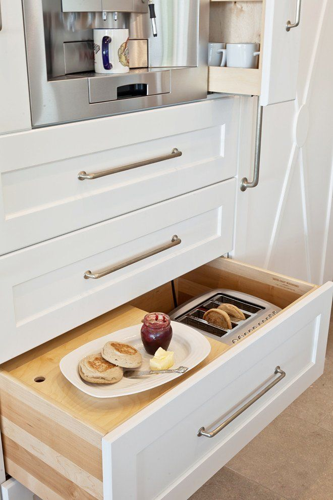Look There S A Toaster In This Kitchen Drawer Kitchen Space
