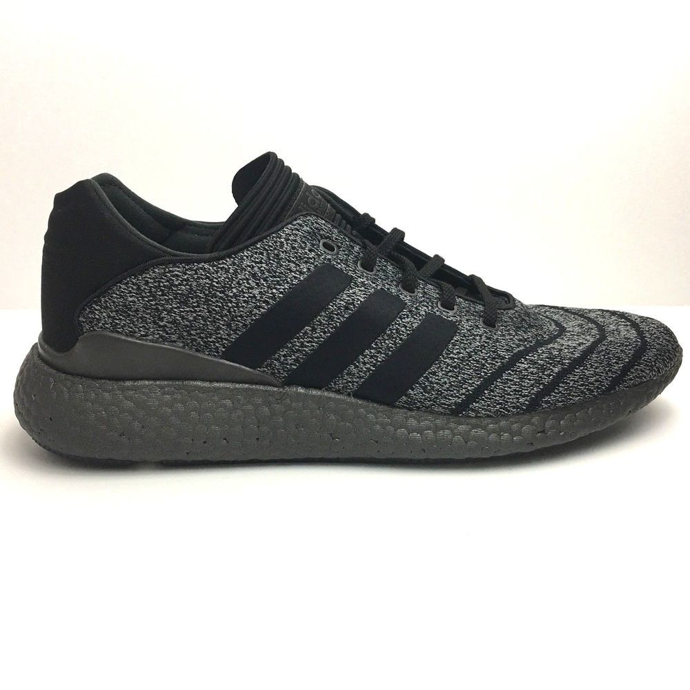 new products 1fe39 0135e Adidas Skateboarding Men Busenitz Pure Boost PK - Charcoal GrayCore Blk US  10.5  eBay