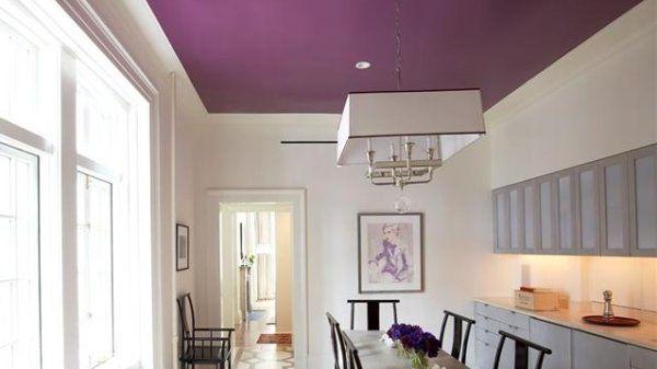 Color Para Cielo Rasos Techo De Color Techos Pintados Decoracion De Interiores
