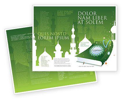 Coran Brochure Template   wwwpoweredtemplate/brochure - religious brochure