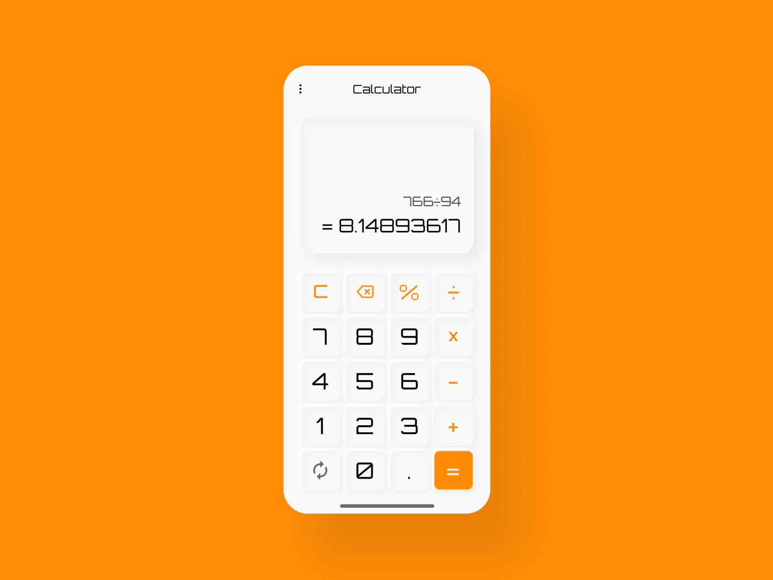 Calculator App Calculator App Calculator App