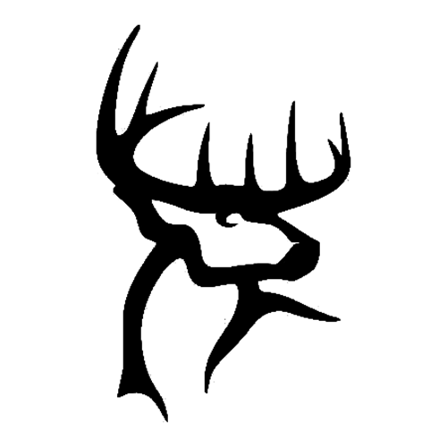 buck commander die cut vinyl decal pv562 | general | pinterest