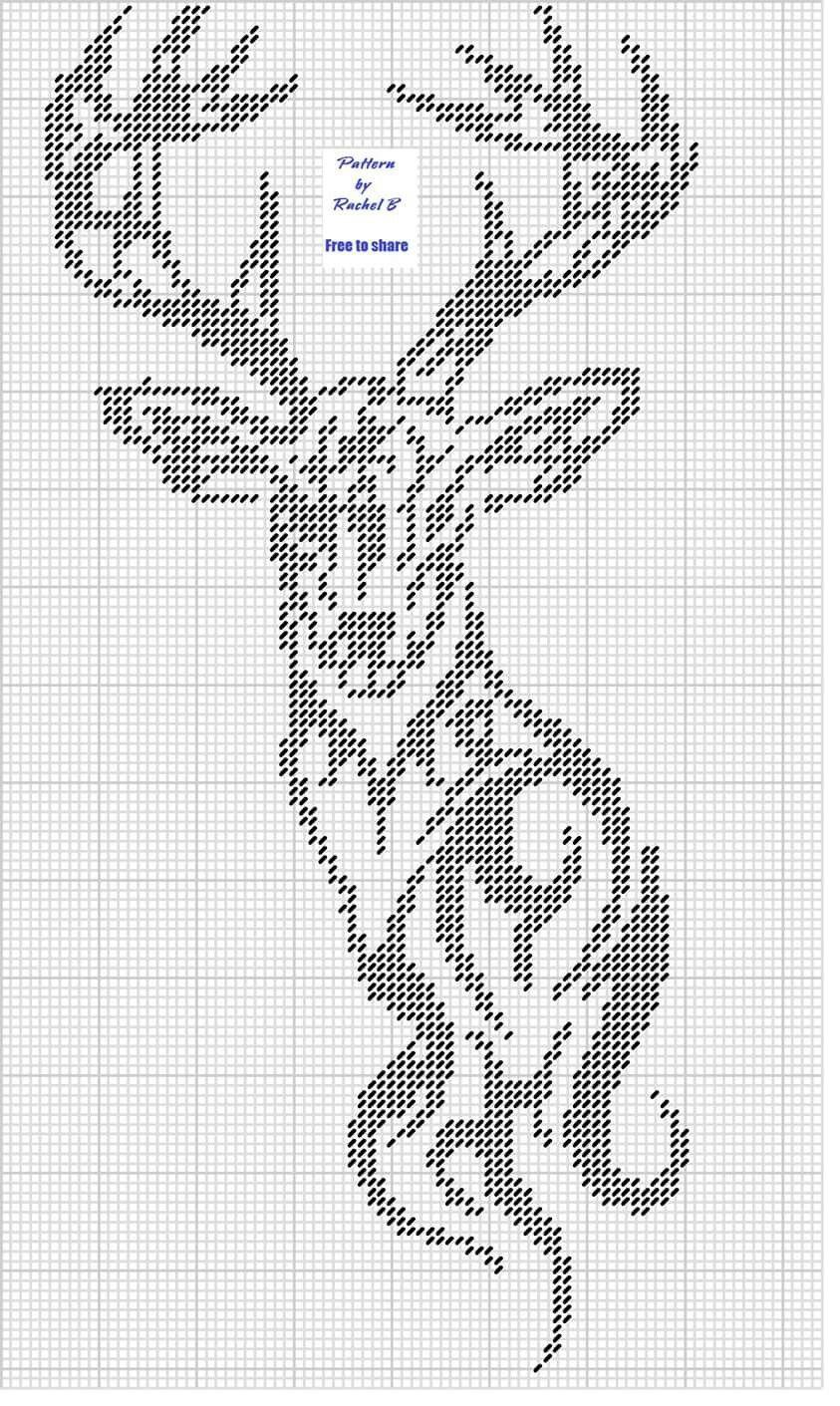 Harry Potter Crochet Cushion