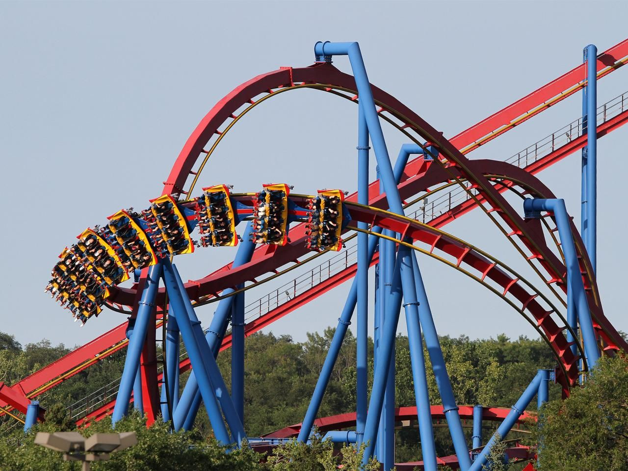 Six Flags Great America Chicago Il Top Us Amusement Parks Six Flags Great America Enjoy Illinois