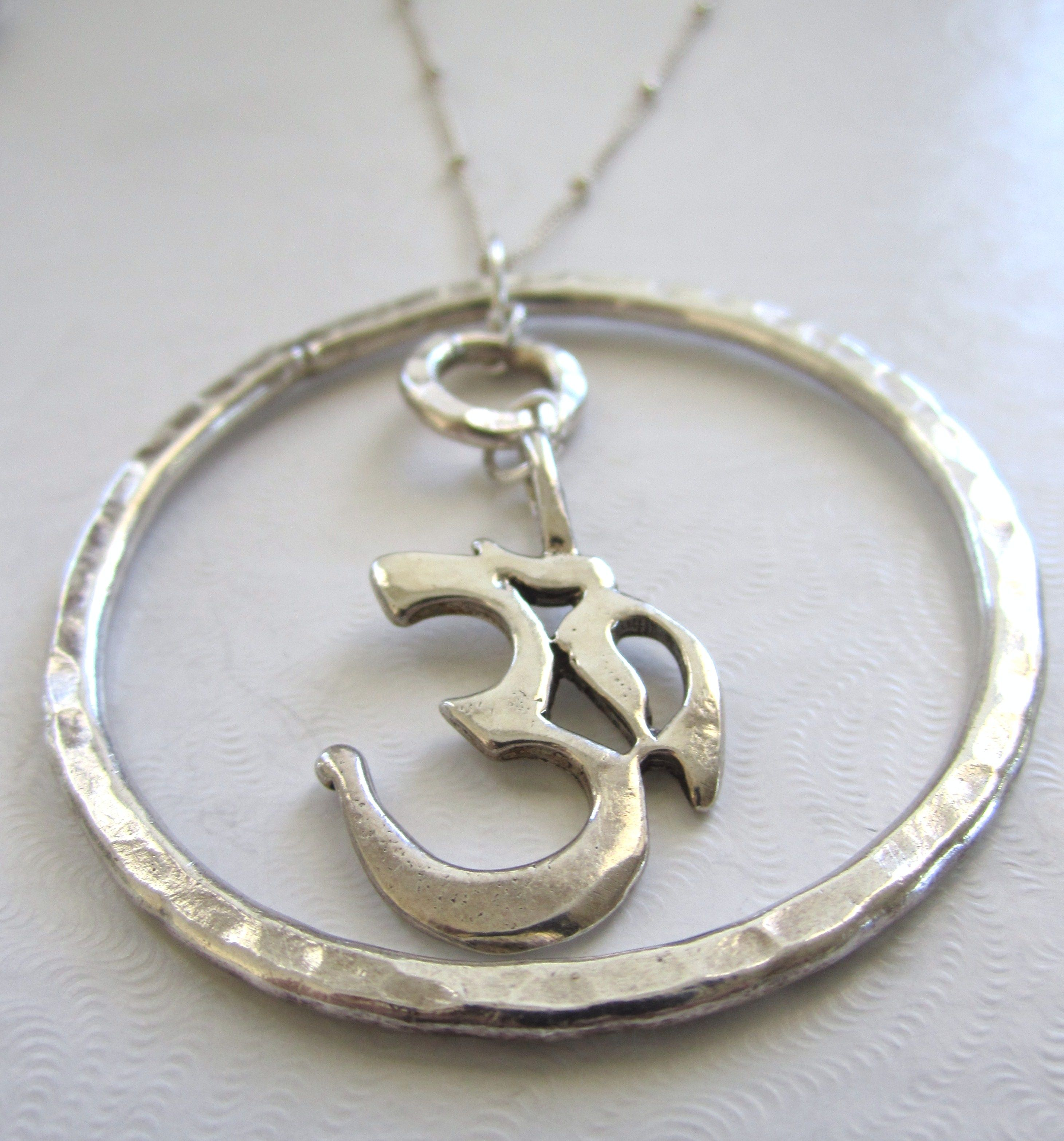 Om necklace from @Faith Marcus Designs