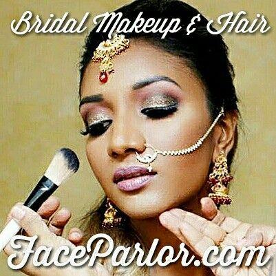 Top Indian Bridal Makeup Artist New York City Long Island Jersey Faceparlor