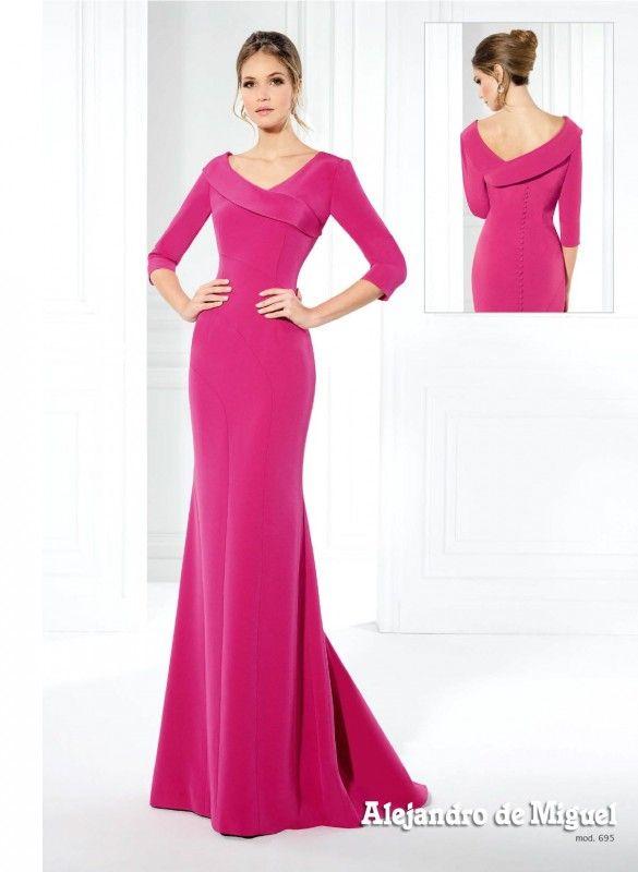 Alejandro de Miguel modelo 695 | dress | Pinterest | Modelo ...