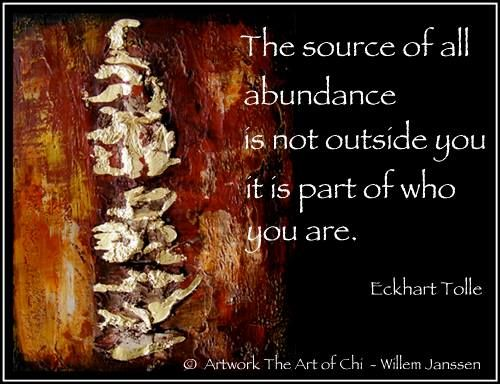 Wise words from Eckhart Tolle