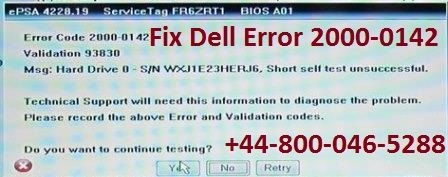Steps to fix dell error code 2000 0142 by dell technical support error code fandeluxe Images