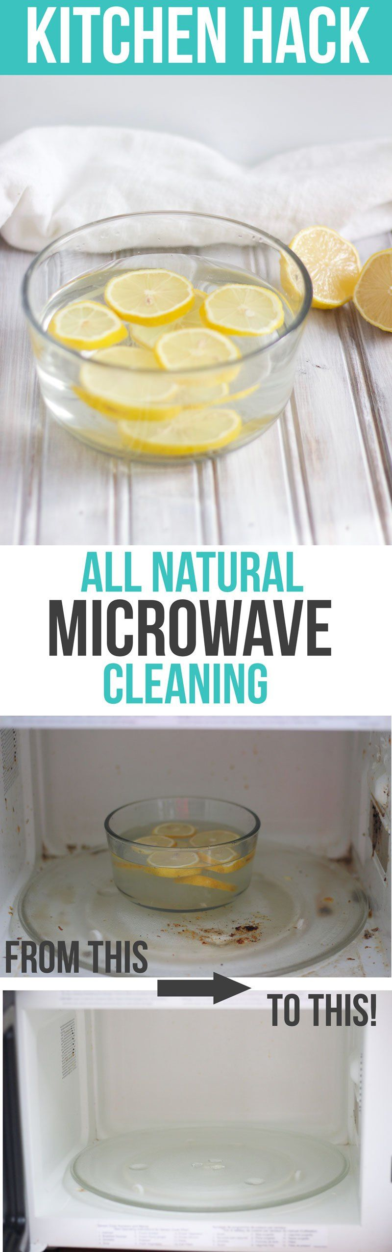 All Natural Microwave Cleaning Lemon Water Cleaner Kitchen Clean Hacks And Tips Nikkisplate