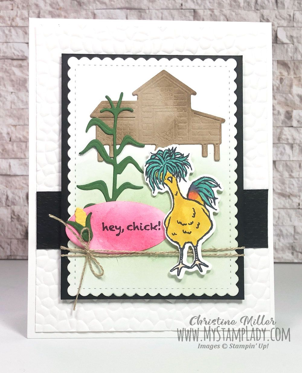 The Popular Hey Chick Stamp Set Is Returning With