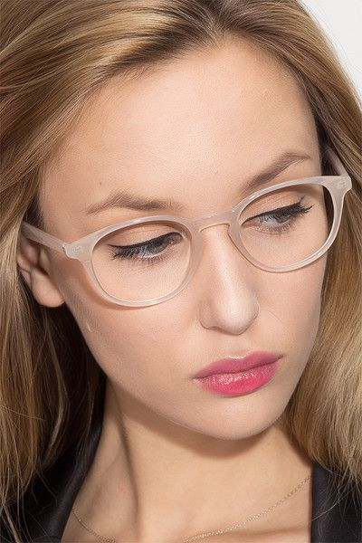 ea5bb46679 Sea Breeze Clear White Plastic Eyeglasses from EyeBuyDirect. Come and  discover these quality glasses at