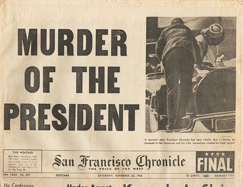 An introduction to the history of american tragedy the kennedy assassination