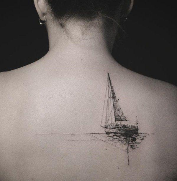 Sailing Tattoo, Ocean Tattoos
