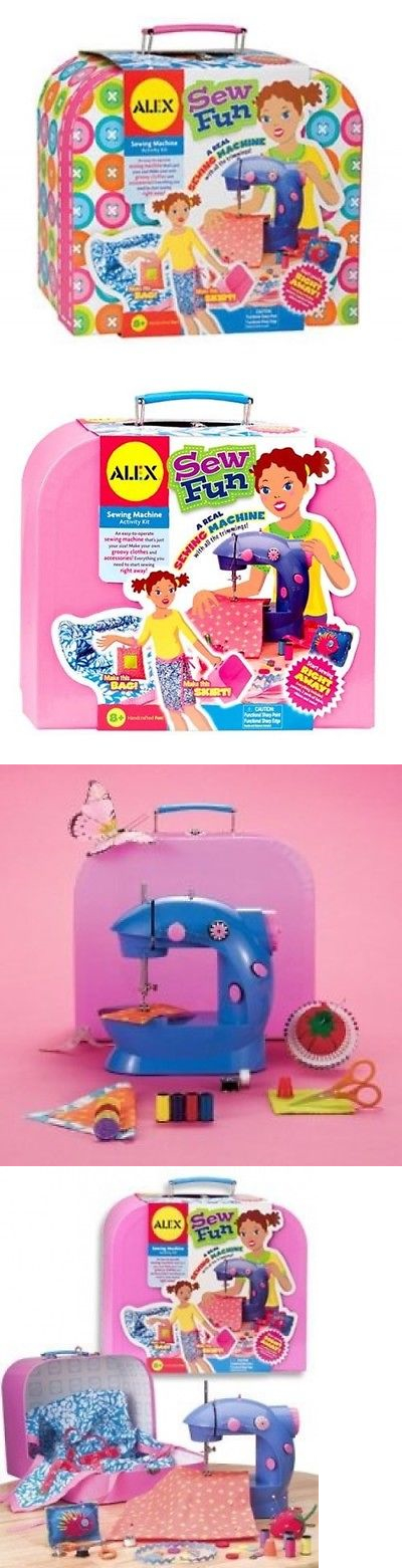 Kits 40 Alex Toys Sew Fun Shipping Included BUY IT NOW ONLY Cool Alex Sew Fun Sewing Machine