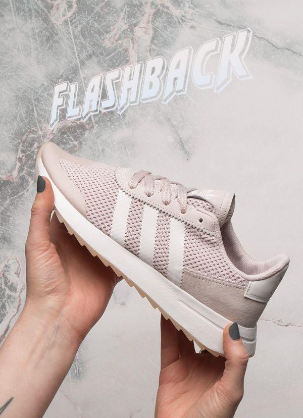 e05e54bd5a93 adidas flashback lilac trainers