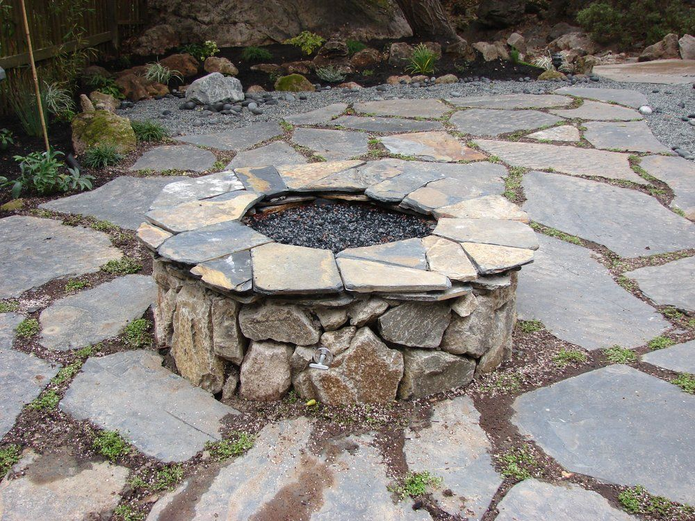 Classic Natural Stone Fire Pit Natural Stone Fire Pits