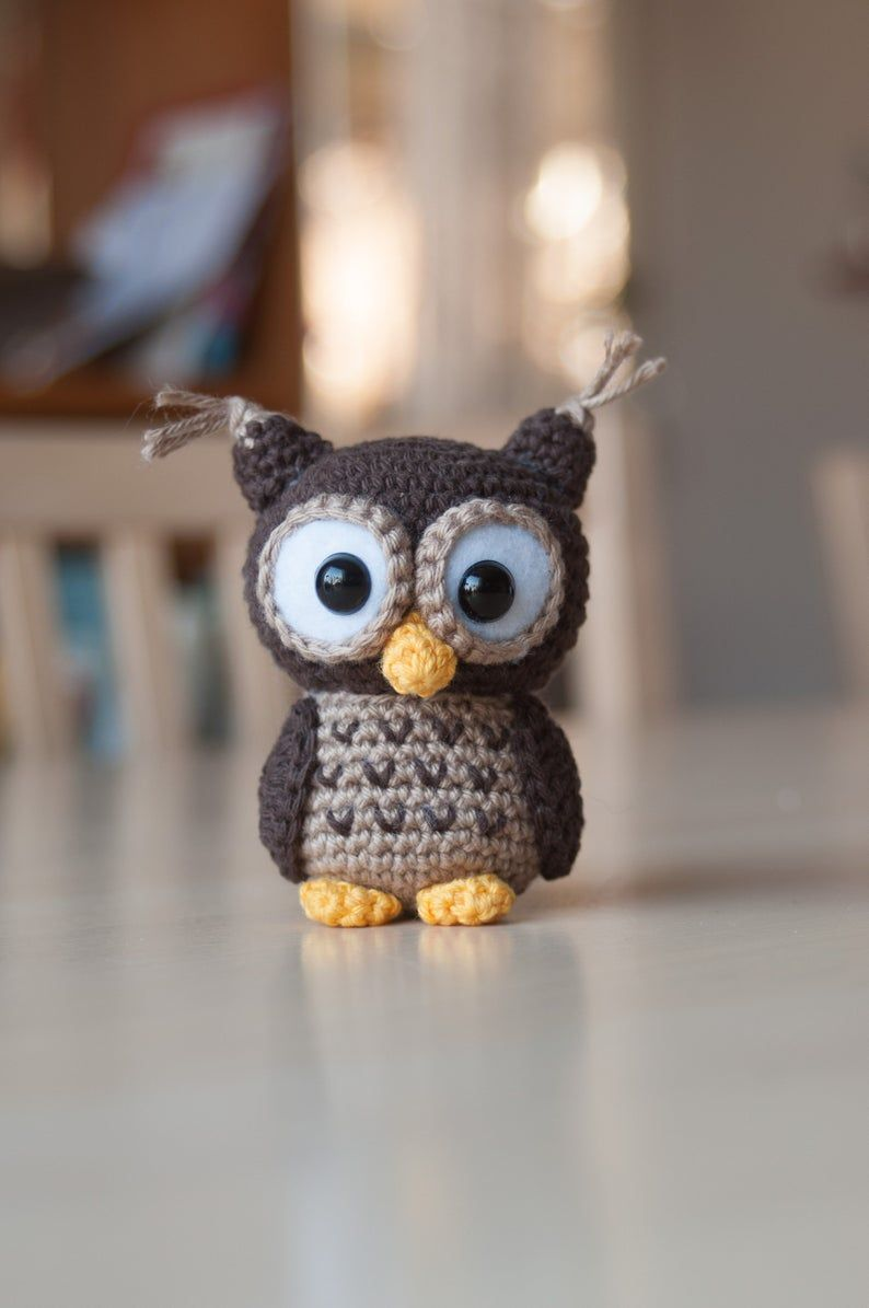 Albert The Owl II Crochet Owl Pattern