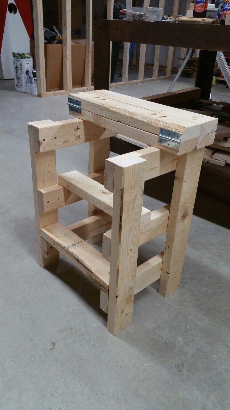 Simple step stoolsitting stool  El abuelo carpintero en 2019  Arredamento Legno y Falegnameria