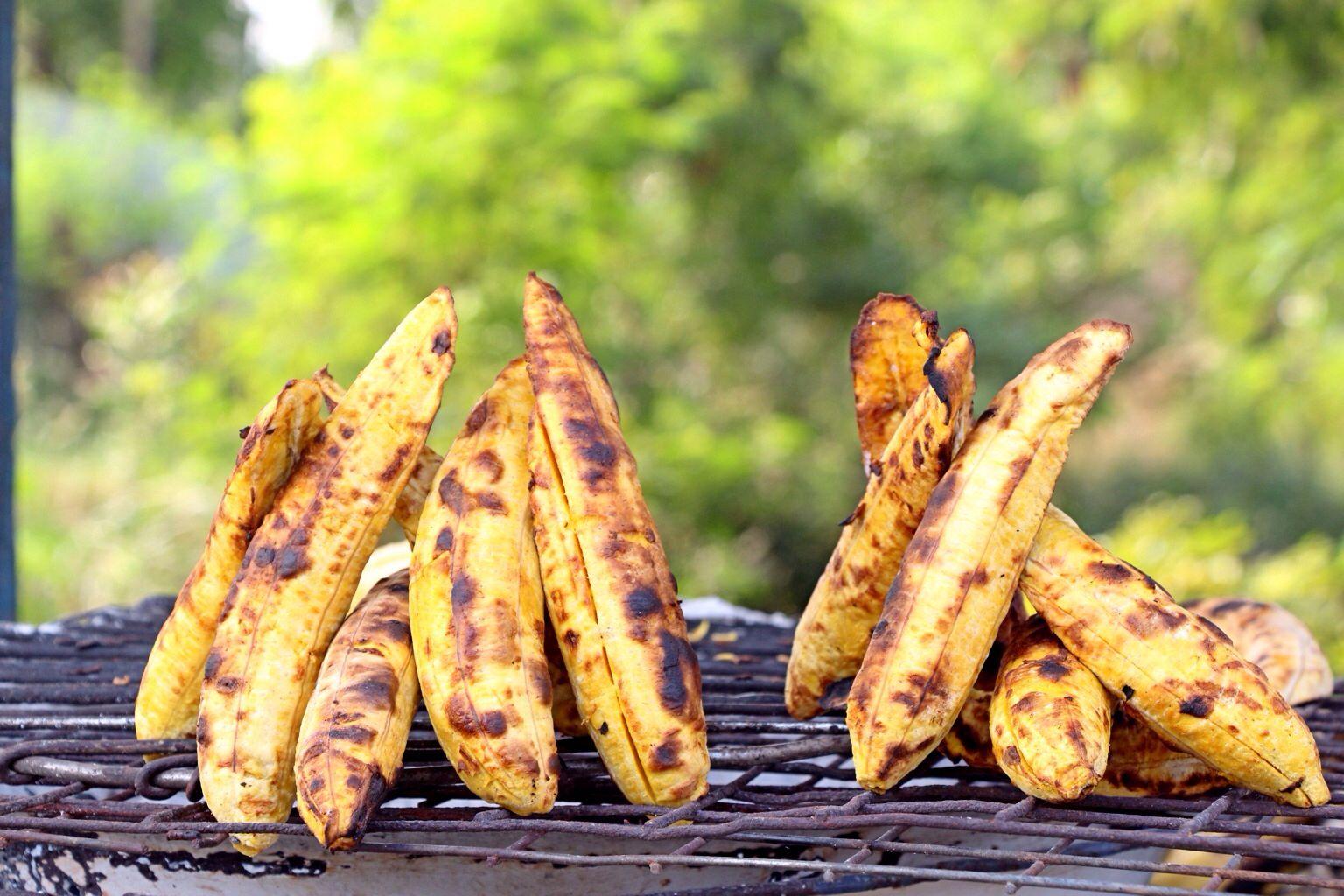 grilled plantain boli