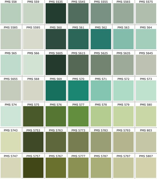 Real access promotional products creative business pms color chart also kitchen wall or pantone green rh pinterest