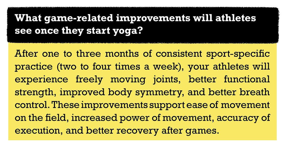 Why should athletes do yoga?   Power yoga, How to do yoga ...