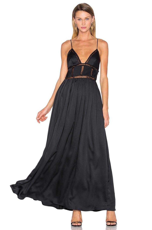 X by NBD Noelle Dress in Black | REVOLVE
