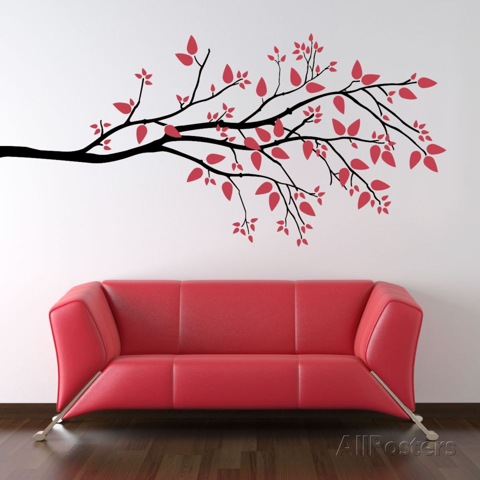 Simplicity branch large black large black wall decals and walls explore black walls wall treatments and more simplicity branch large black wall decal at allposters amipublicfo Images