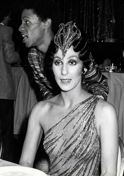 Cher attends a Disco Convention Banquet held at the New York Hilton Hotel in New York City, 1978.
