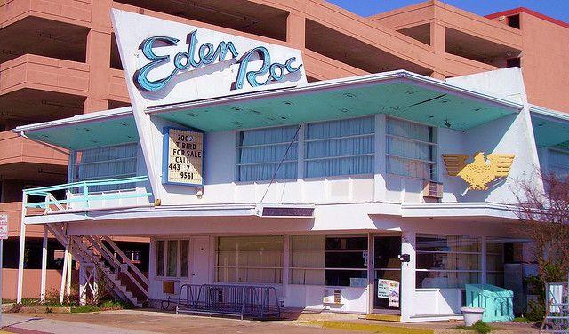 Eden Roc Motel Ocean City Maryland Vintage Ocean City Ocean