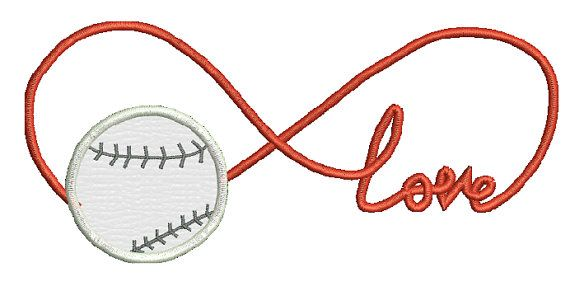 Baseball Set Of 3 Embroidery Designs And Applique 3 Designs 4