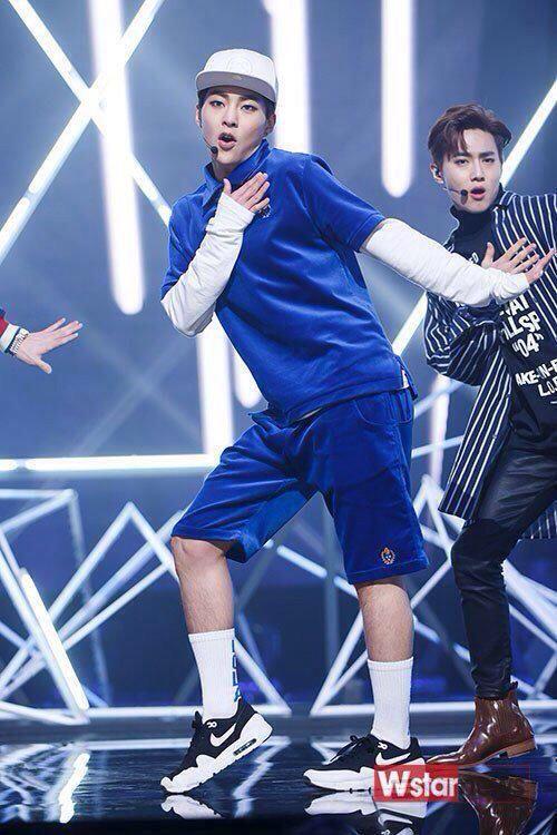 [NEWS PHOTO] 150409 #EXO at M! Countdown