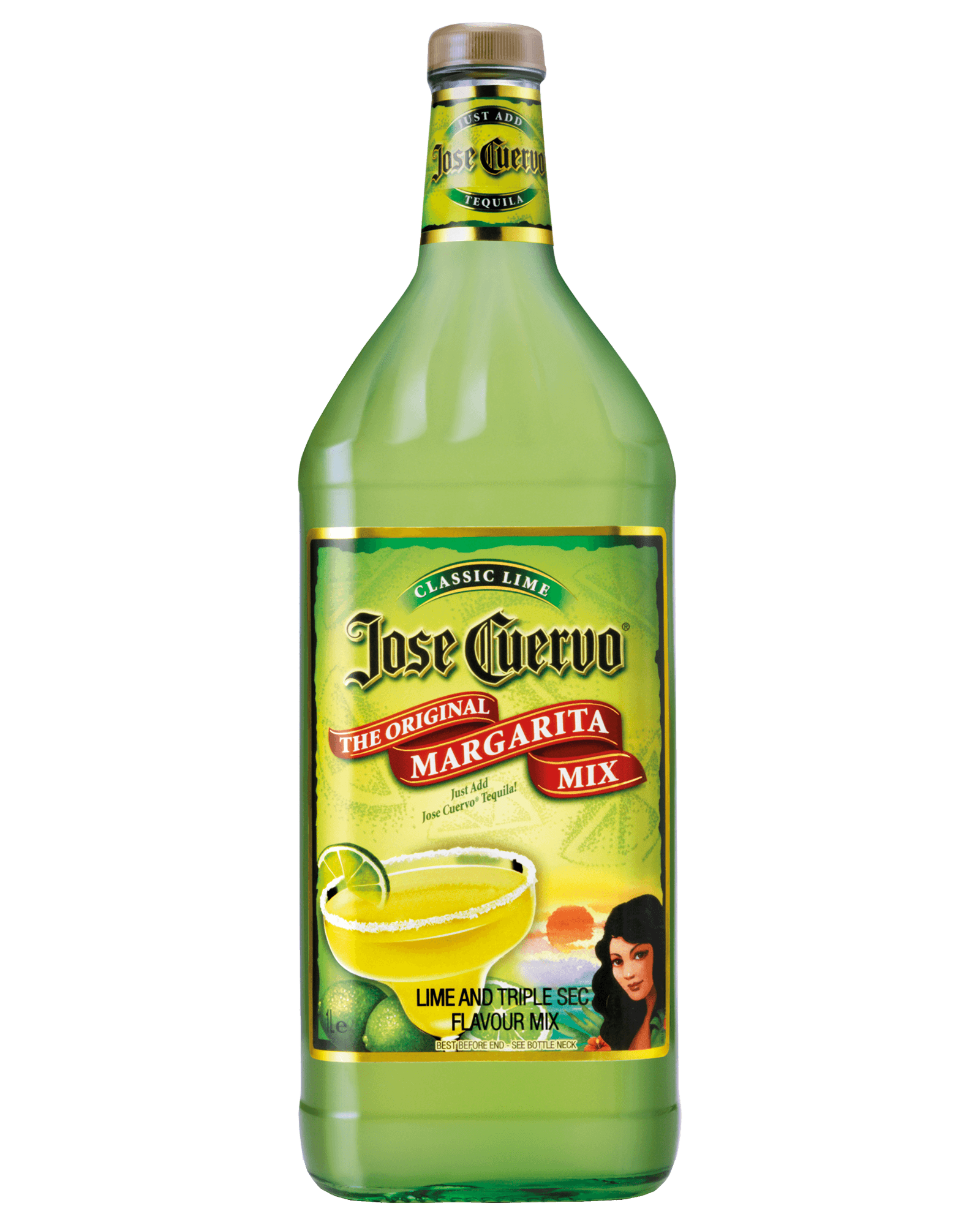 Jose Cuervo Margarita Mix 1L