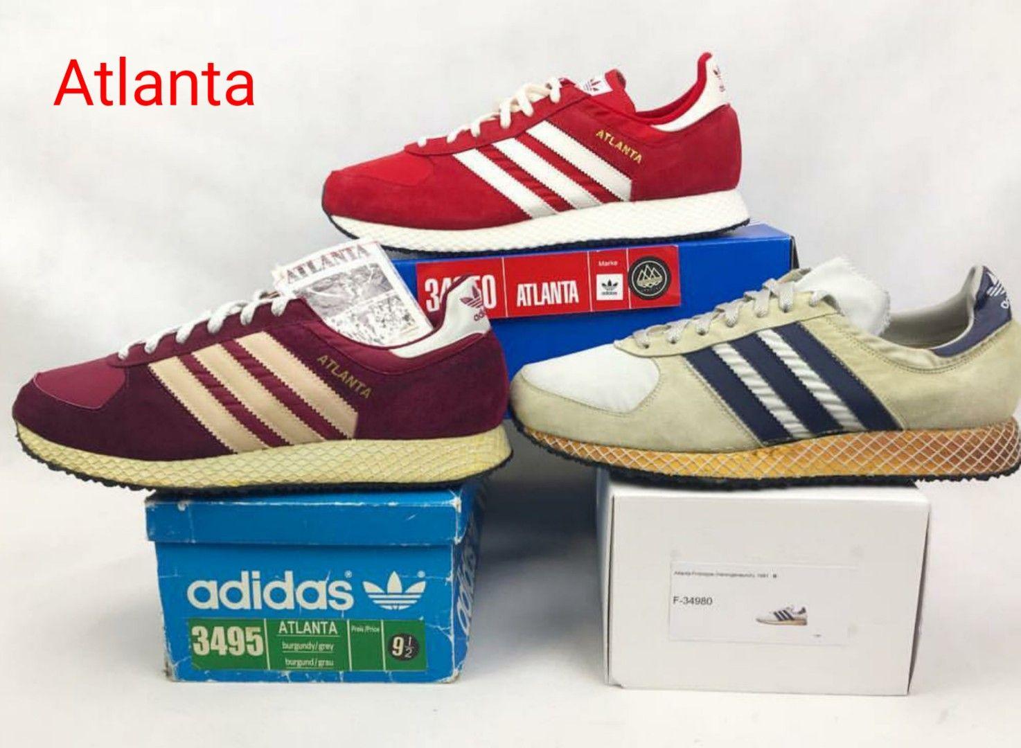 objetivo bicapa Alegrarse  Adidas Atlanta variants - top Atlanta Spezial, left Taiwanese Atlanta from  1983 and right a West German Atlanta prototy… | Football casuals, Adidas  sneakers, Adidas
