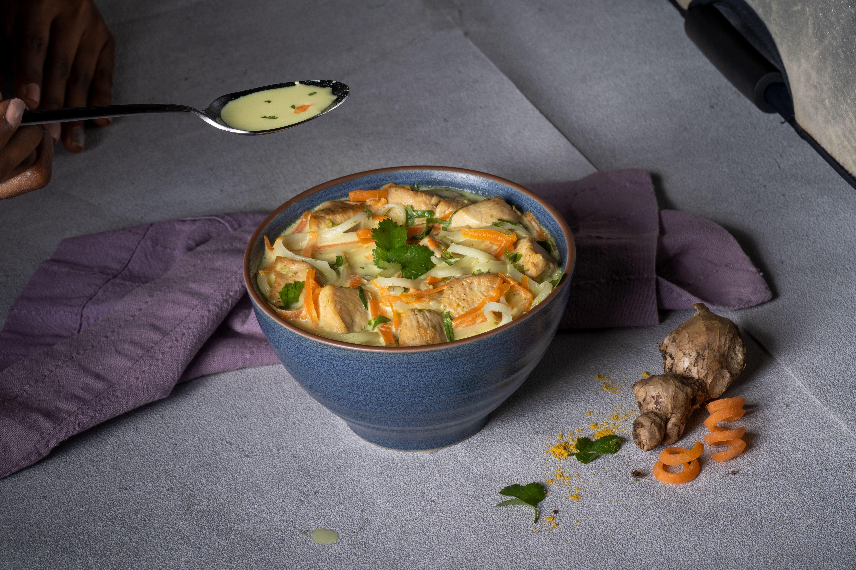 Sopa Thai De Coco Y Pollo Recetas Nestlé Receta Sopa De Pollo Coco Arroz Con Pollo