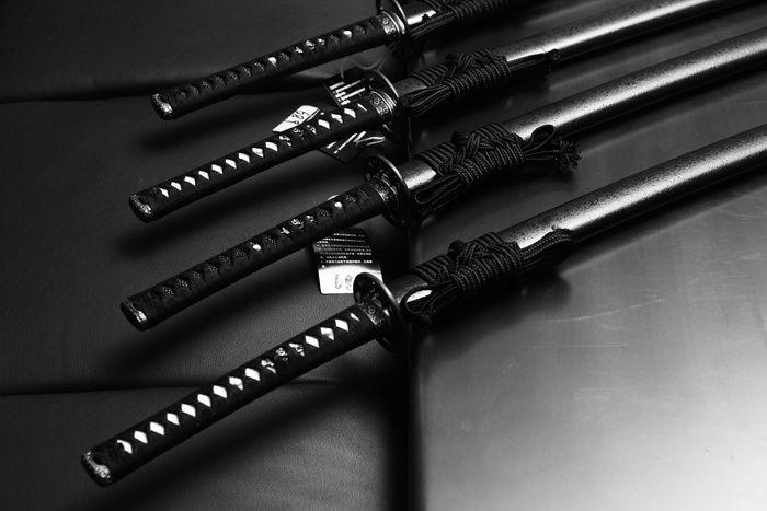 TheSamuraiWorkshop :: Swords - Okuden Collection - Kaneie Sword Art - T10 hi - Ishime silver