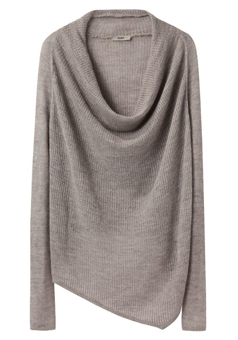 HELMUT Helmut Lang / Cowl Neck Sweater | La Garçonne | Eunice's ...