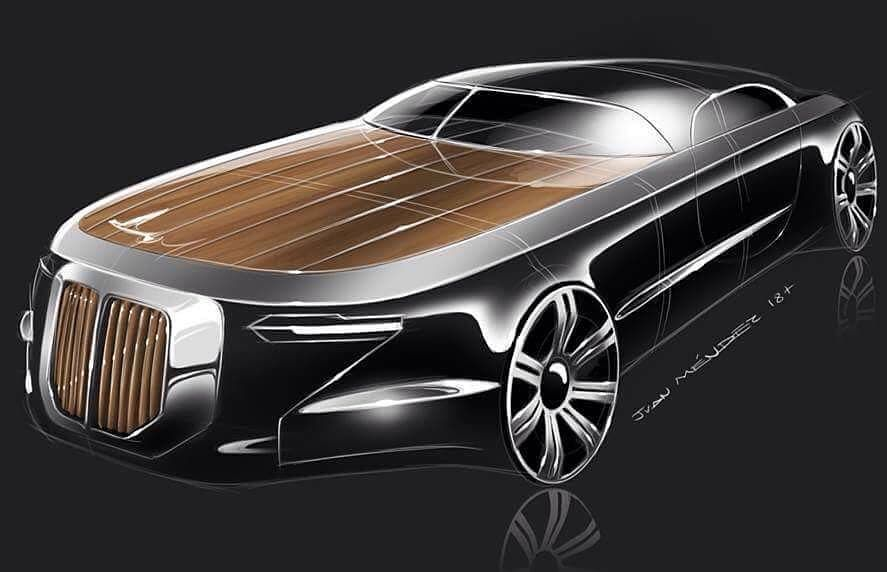 Duesenberg concept by Juan Méndez (@j.u.a.n.mendez) for #DuesenbergDesignChallenge.  We want to see your Duesenbergs now! Draw them,…
