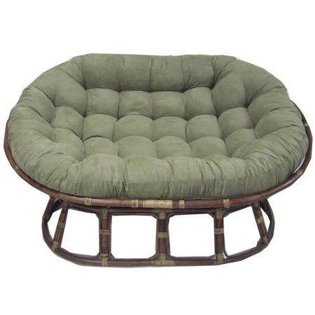 Patio Garden Papasan Cushion Papasan Chair Cushion Double
