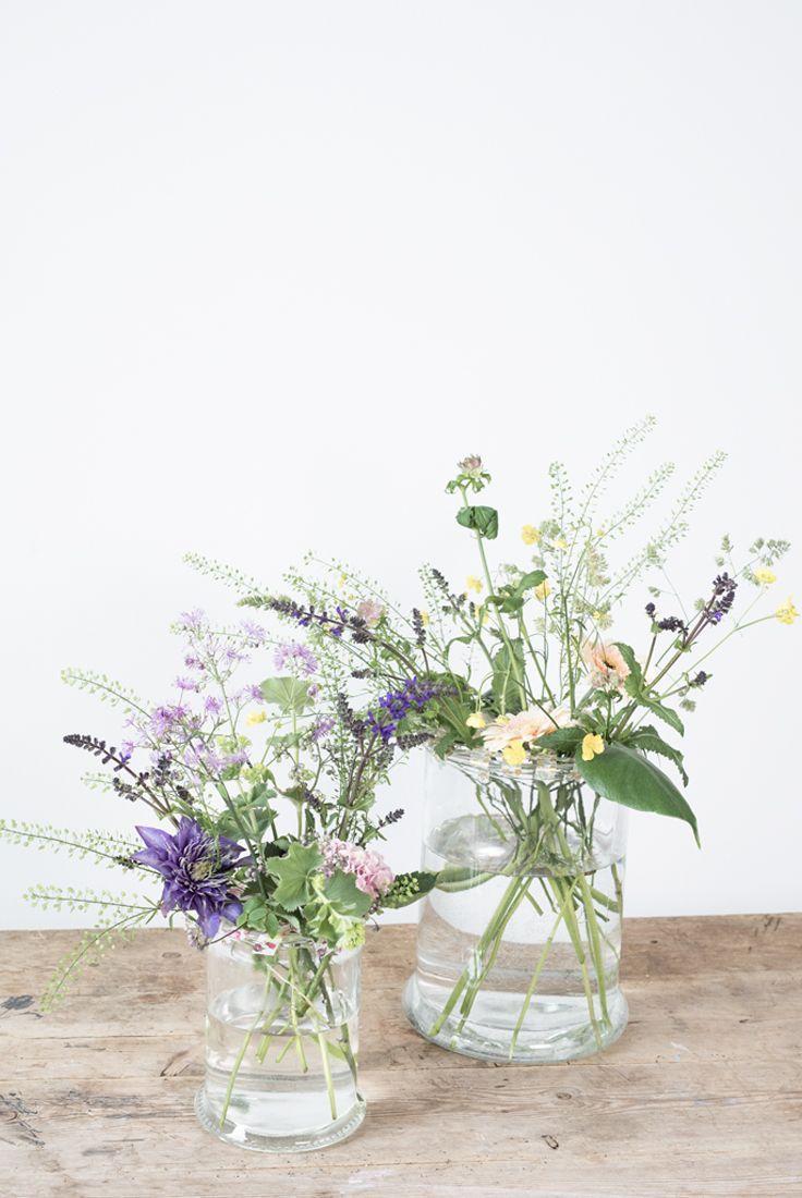 Diy flower arrangement in vase learn annas flower